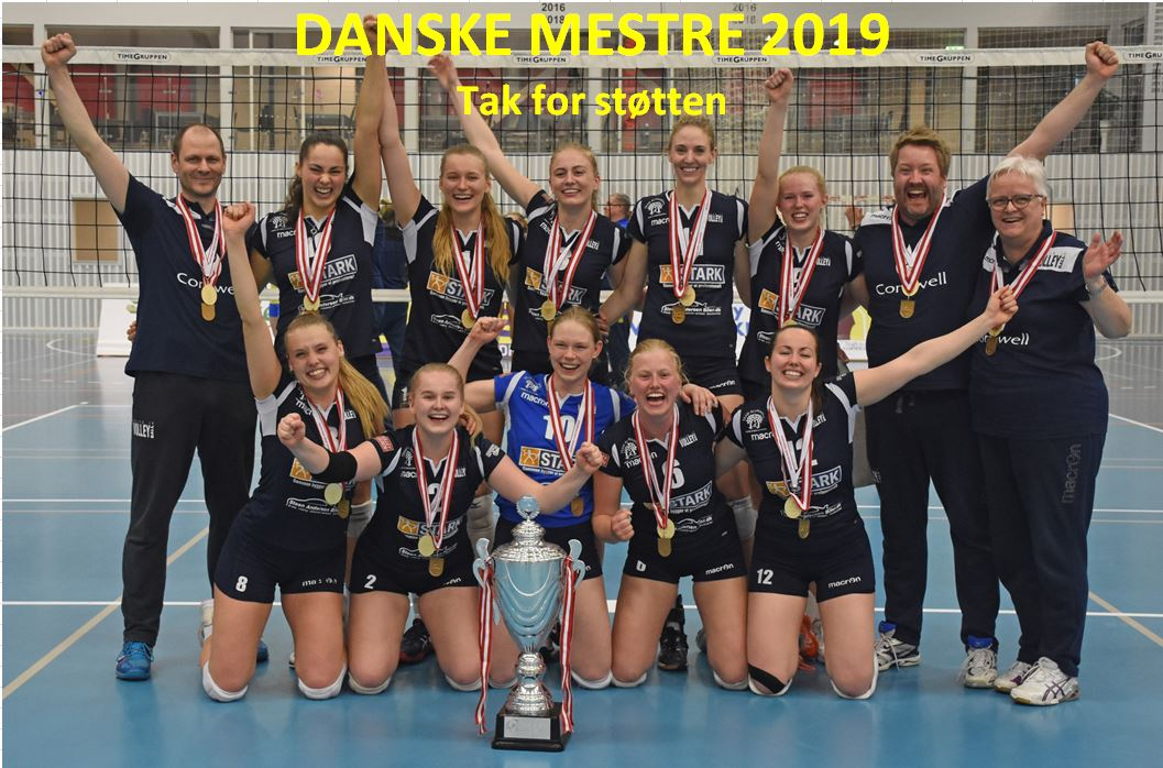 Holte Volleyball Dansk Mester 2019