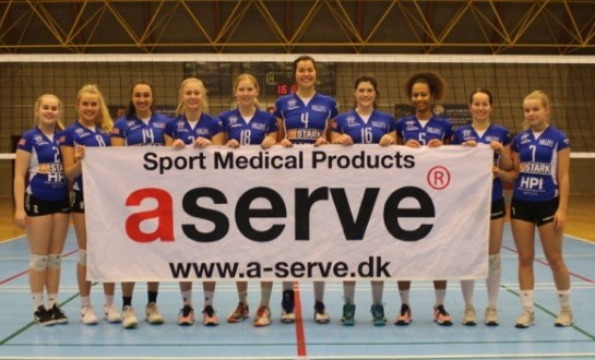 Holte Volleyball damer sølv 2018